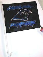 NFL Car Flag, Carolina Panthers, NEW