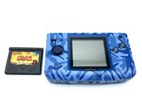Neo Geo Pocket Color Console Blue SNK with 1 software Japan game Tested