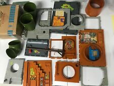 tmnt vintage sewer playset 17 pieces? very nice condition neca 10 free figs
