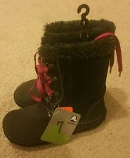 CROCS Hiker BOOTS Espresso Suede WOMEN Sz 7 NEW With Tags