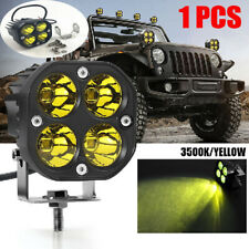 12W 3500K Car Truck LED Work Fog Light Durable Flood Beam Lens Durable Practical