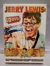 Jerry Lewis - The Legendary Jerry Lewis Collection (DVD, 2005, 10-Disc Set) RARE