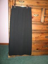 Ladies  Skirt by Jacqui E  Black Size 8