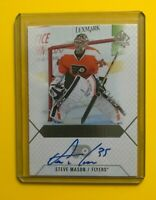 Steve Mason - 2015-16 SP Authentic Scripted Stoppers Auto on card Flyers