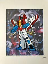 Transformers - Decepticons - Starscream - Hand Drawn & Hand Painted Cel