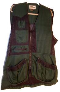 LL Bean Hunting Vest XL Nylon Mesh NWOT