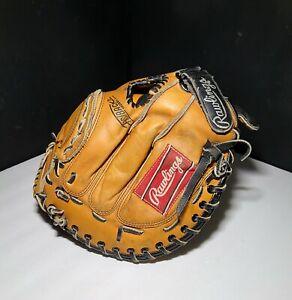 Rawlings RMP 12SC Catchers Glove Softball RHT Lite Toe Deep Well Pocket Palm Pad
