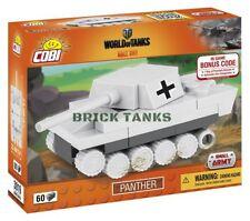 Panther Nano Tank - COBI 3019 60 brick set