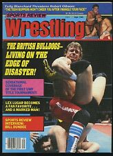 Sports Review Wrestling Magazine - Sept 1986 - British Bulldogs