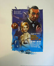 JAMES BOND FROM RUSSIA WITH LOVE LTD ED OFFICIALLY LICENSED LITHO-FREE SHIP