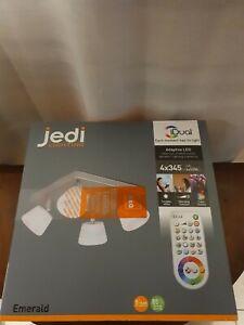 Jedi lighting LED Emerald Spotlight colour iDUAL 4 X 50w,