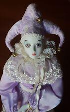 Kingstate * Bisque Porcelain * Harlequin * Doll