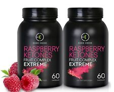 120 RASPBERRY KETONE WEIGHT LOSS EXTREME CAPSULES SLIMMING DIETING FAT BURNER