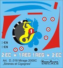 MIRAGE 2000 C SIRENES & CIGOGNES - ARME DE L'AIR/FRENCH AF MKGS 1/72 MODELMAKER