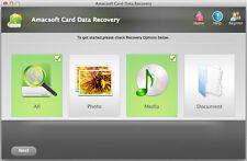 Amacsoft Card Data Recovery for Mac