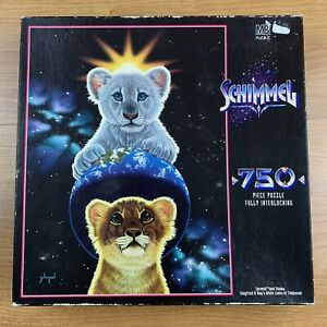 Schimmel 750 Piece Puzzle Sarmoti and Shaka Siegfried and Roy Factory Sealed