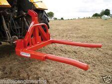 Nugent Tractor 3PL Single Bale Lifter Tipper Handler (Bale Handling)