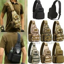 Herren Taschen Sportrucksack Backpack Camo Crossbody Shoulder Bag Chest Bag