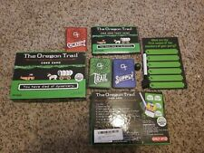 Oregon Trail Card Game USED complete
