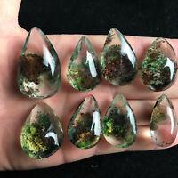 NEW Natural Ghost Phantom Quartz Crystal Gems Specimen Healing Pendant YK