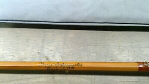 Orvis Impregnated Battenkill 8' 4 1/2 oz fly rod w/leather case. Serial #82359
