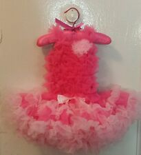 Popatu Petticoat Tutu Dress Pink 18 month Easter,Holiday,Birthday,Party NWT