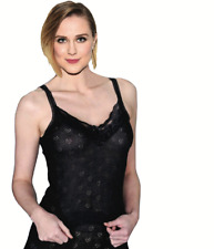 Ladies Thermal Underwear Sleeveless Vest Winter Wear French Neck Lace Spencer