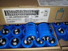 100pcs NEW 4700uF 25V 105C BC VISHAY 058 PLL-SI LOW ESR LONG LIFE HIEND CAPS!