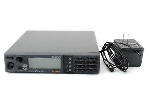 Roland SC-88VL Sound Leinen Midi W / Netzteil [ EXC Gebraucht IN Japan A1200
