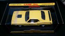 ERTL AMERICAN MUSCLE YELLOW 1970 PLYOUTH CUDA 440-6 CLUB MOPAR 1998 1/18