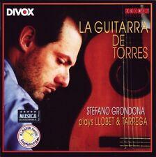 Stefano GRONDONA / La Guitarra de Torres - Plays Llobet and Tarrega / (1 CD)