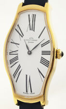 JAQUET GIRARD SWISS - NEW OLD STOCK HERRENARMBANDUHR - 1970er JAHRE - VERGOLDET
