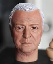 ELEVEN Michael Caine 1/6 Head Sculpt for Custom Hot Toys Alfred Body