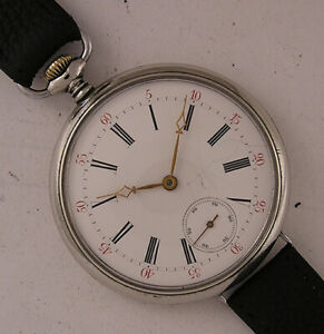 Vintage CHRONOMETRE ZENTRA 1920 Hi Grade German Wrist Watch Serviced Perfect