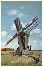 R270403 Schilderachting Holland. Picturesque Holland. Cornmill at Heerenveen. Ca
