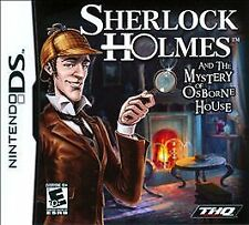 NEW Sealed Sherlock Holmes and the Mystery of Osborne House (Nintendo DS, 2011)