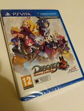 Disgaea 3 Absence of Detention PS Vita New Sealed UK PAL Sony PlayStation PSV