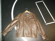 Americian Eagle Outfitters Brown Leather Jacket XL