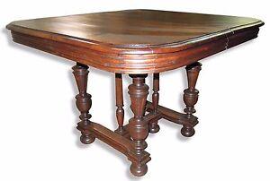 Tisch #54·Henry 2/Gründerzeit·um 1880·Eiche massiv·B105bis208xT103xH76 cm