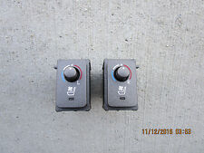 08 LEXUS LS460 4.6L V8 CENTER CONSOLE FRONT LEFT & RIGHT SIDE HEATED SEAT SWITCH