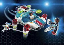 Playmobil Super 4 9002 FulguriX Agent Gene Future Space Ship NEW BOXED Worldwide