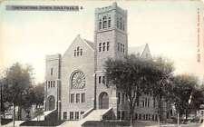 Sioux Falls South Dakota Congregational Church Antique Postcard K21443