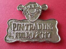 Tigger 2017 Pin Trading Fun Day Disney Lapel Pin