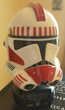 Star Wars Master Replicas Clone Shock Trooper Sw-373Eu Scaled Helmet Rare Mint