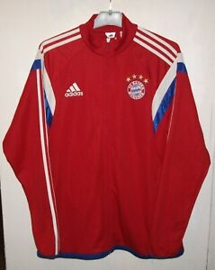 Bayern Munich Football Soccer Jacket Adidas Size M