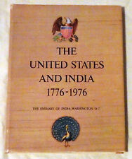 The United States and India 1776-1976 by M.V. Kamath
