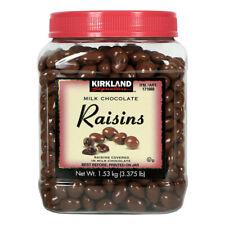 Kirkland Signature Milk Chocolate Coated Raisins 1.53kg Tub