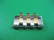 BULOVA 98A101 PARTS LINK MEN'S WATCH STAINLESS STEEL & G/P 20.00 MM LINK