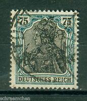 Deutsches Reich 104b , o , Infla geprüft