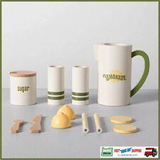 NEW Wood Lemonade Set Toy set Hearth & Hand with Magnolia 13 pc 3+ Joanna Gaines
